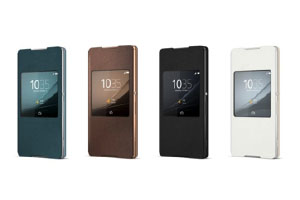 Sony Xperia Z4 Cover With Window Case SCR30 accessories