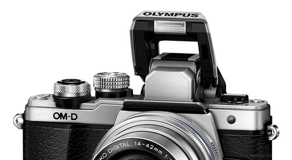 Olympus OM-D E-M10 Mark II Interchangeable Lens Compact System Camera with 5-axis image stabilization and Built-in Wi-Fi Launches September 4th Price Sliver