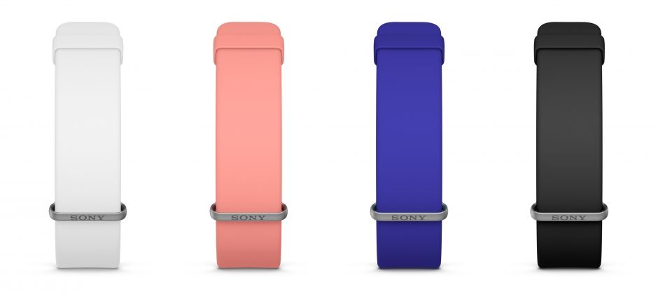 Sony SmartBand 2 Activity Tracker with Intelligent Heart Rate Monitor Unveiled Colours