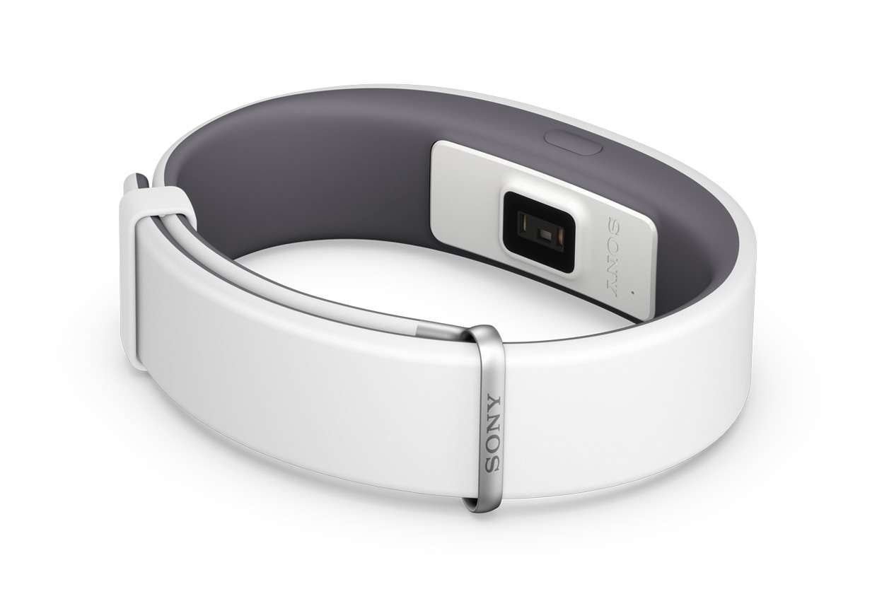 Sony SmartBand 2 Activity Tracker with Intelligent Heart Rate Monitor Unveiled White 2015