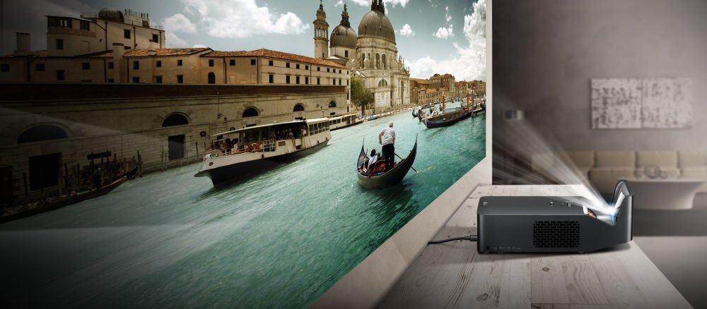 LG Minibeam Ultra Short-Throw Projector Turns Any Wall into 100-inch Full HD New Specs