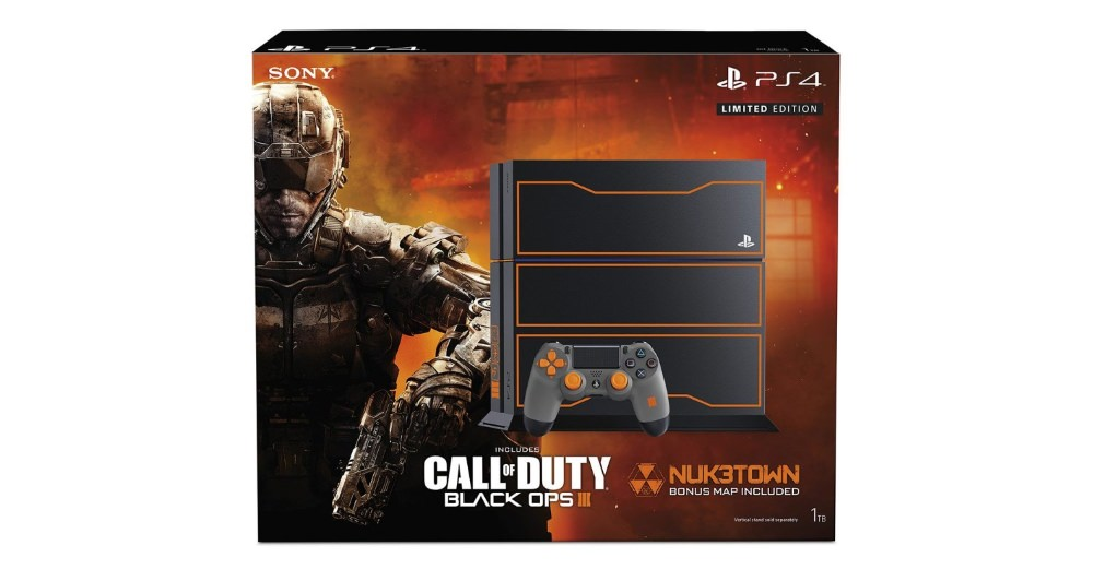 PlayStation 4 1TB Console Call of Duty Black Ops 3 Limited Edition Bundle new