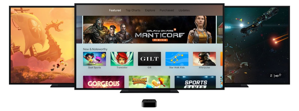 Apple TV with Siri Voice Remote Lets You Watch, Play and Shop Online