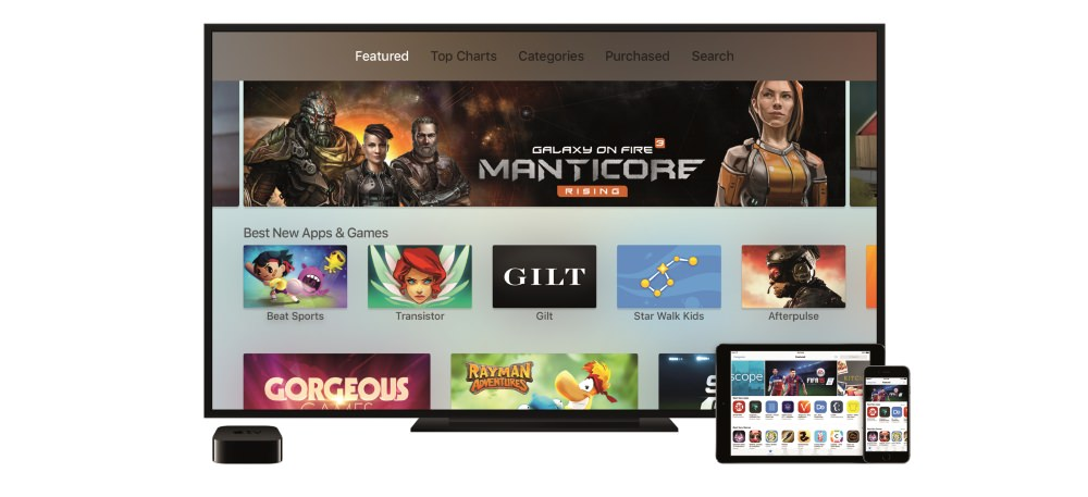 Apple TV with Siri Voice Remote Lets You Watch, Play and