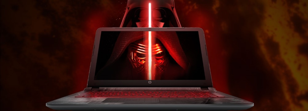 HP Star Wars Special Edition Notebook up for Pre-Order hero specs price