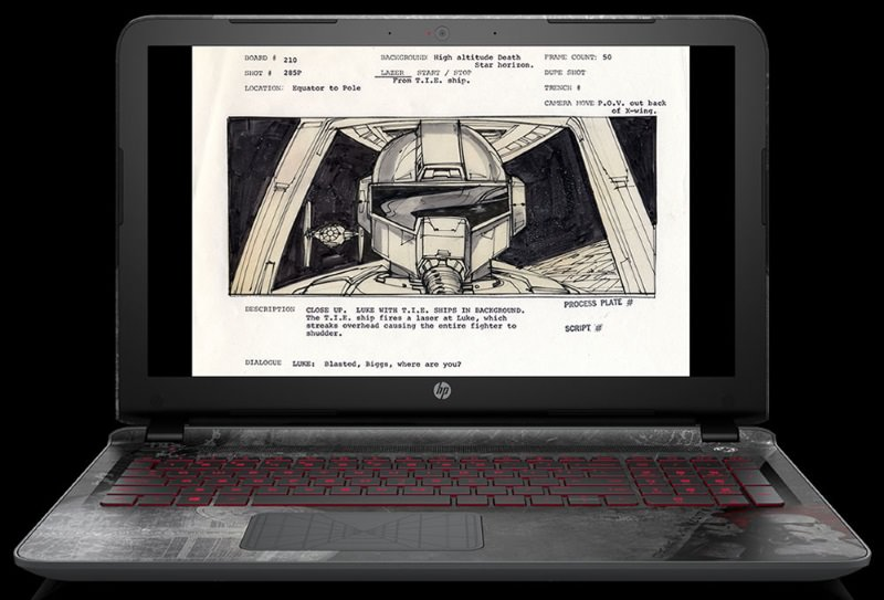 HP Star Wars Special Edition Notebook up for Pre-Order new 4