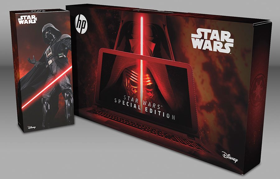 HP Star Wars Special Edition Notebook up for Pre-Order new