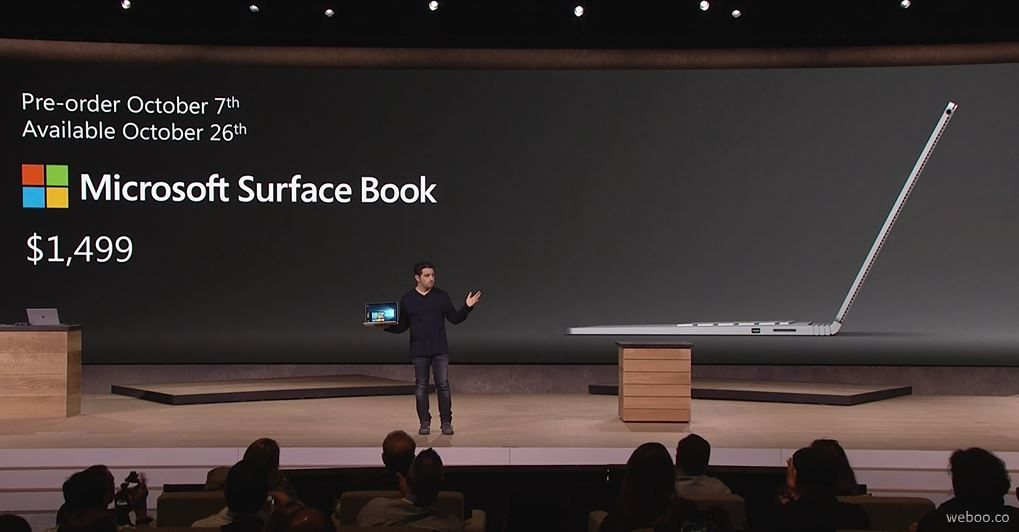 Microsoft Surface Book–Microsoft Fastest 13-inch Laptop Ever Built