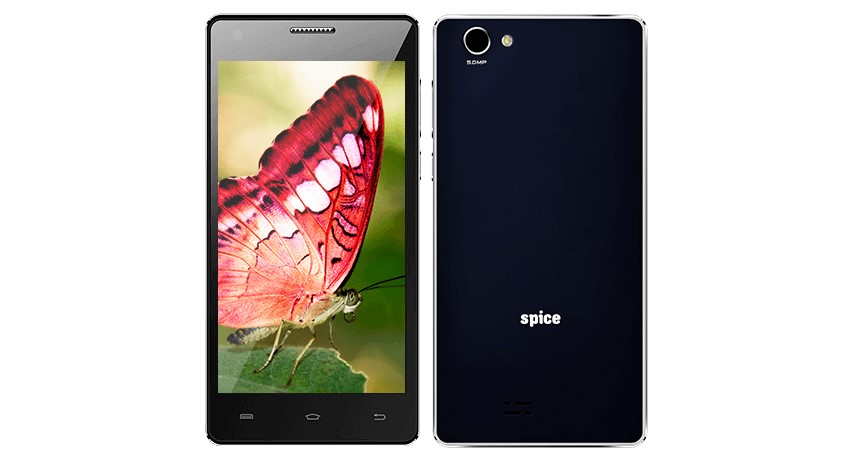 Spice X-Life 511 Pro – Dual SIM Handset Powered by Android Kitkat Price Specs