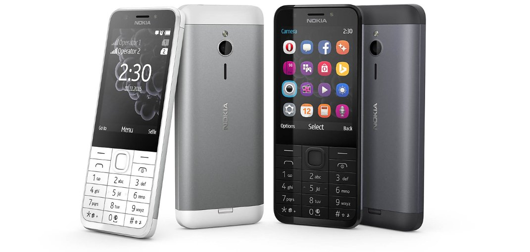 Nokia 230 Dual SIM with 2-Megapixel Cameras Launched Grey White